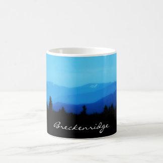 Breckenridge tasse de café de chaîne de Dix milles