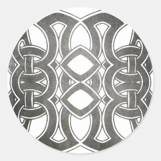 Breizh celtique bretagne sticker rond