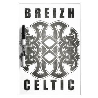 Breizh celtique bretagne tableau effaçable à sec