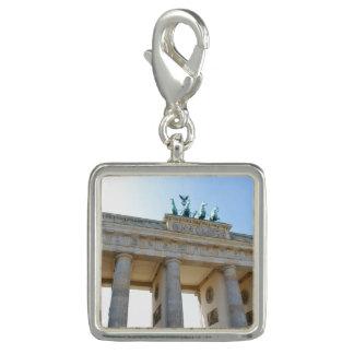 Breloque Avec Photo Massif de roche de Brandenburger, Berlin
