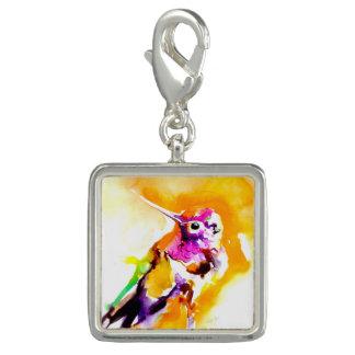 Breloque Copie magnifique de colibri de Gorget