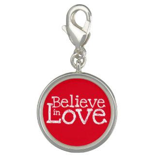 Breloque Croyez à l'amour