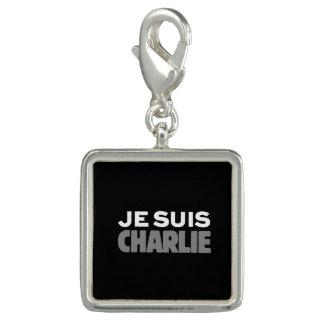 Breloque Je Suis Charlie - je suis noir de Charlie