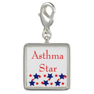 Breloques Avec Photo Charme ou pendentif d'étoile d'asthme