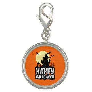 Breloques Avec Photo Halloween heureux