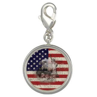 Breloques Drapeau et symboles des Etats-Unis ID155