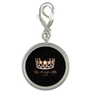 Breloques Nom de Charme-Coutume de PS de couronne d'or de la