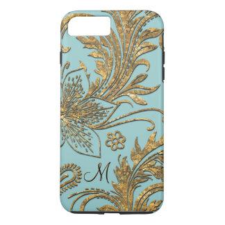 Breselcoucant par le floral élégant de mer plus coque iPhone 7 plus