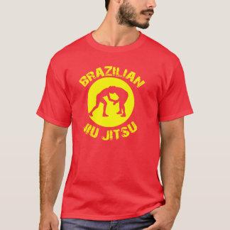 Brésilien Jiu Jitsu - T-shirt d'ovale de Grapplers