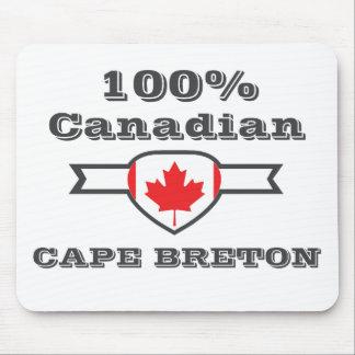 Breton 100% de cap tapis de souris