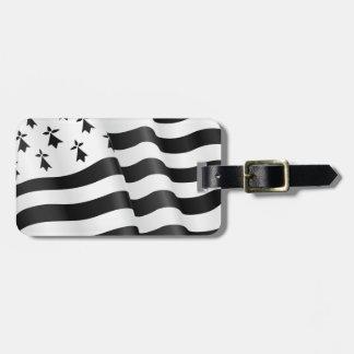 Breton de Drapeau (drapeau breton) Étiquette À Bagage