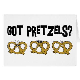 Bretzels obtenus ? cartes