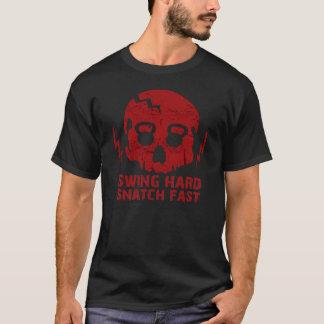 Bribe dure d'oscillation rapide - T-shirt de crâne