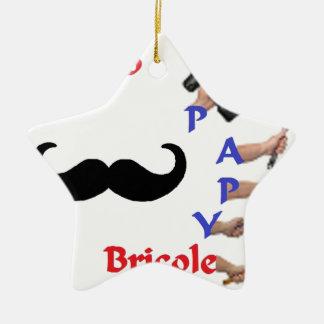 BRICOLE PAPY 2.png Ornement Étoile En Céramique