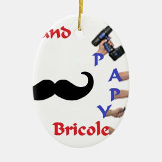 BRICOLE PAPY 2.png Ornement Ovale En Céramique
