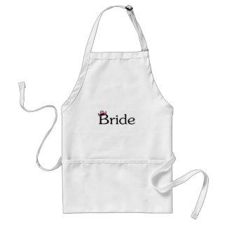 Bride (Cowboy Hat) Aprons