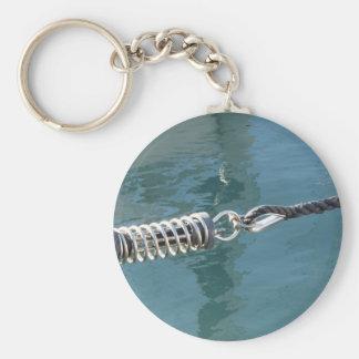 Bride de corde avec le dispositif d'accrochage porte-clé rond