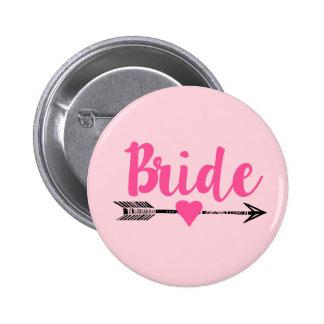 Bride|Team Bride|Pink Badge