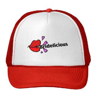 Bridelicious (rouge) casquette de camionneur