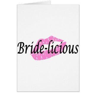 Bridelious (lèvres) cartes de vœux