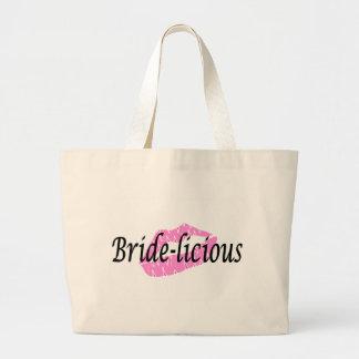 Bridelious (Lips) Canvas Bags