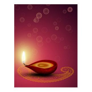Brightful Diwali - carte postale