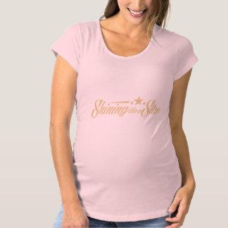 Briller comme une étoile T-Shirt de maternité