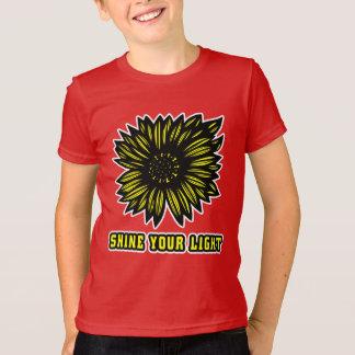 """""""Brillez le T-shirt américain de l'habillement de"""