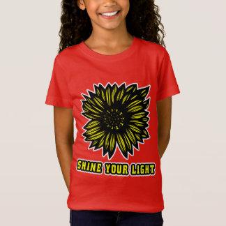 """""""Brillez le T-shirt de vos"""" filles légères"""