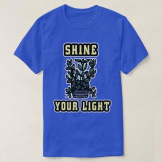"""""""Brillez le T-shirt de vos"""" hommes légers"""