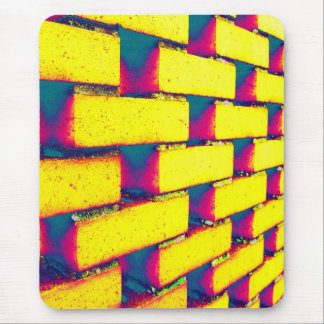 Briques psychédéliques tapis de souris