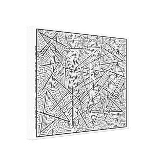 Brisé - un labyrinthe extraordinaire par Blaise ! Toiles