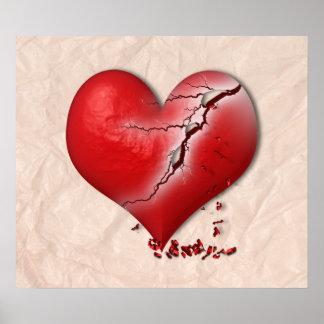 Briser le coeur affiches