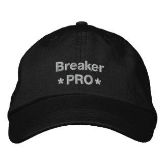 Briseur pro casquette brodée