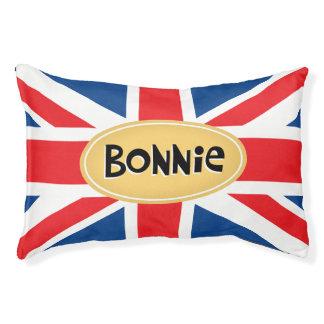Britannique personnalisé mignon lit pour chien
