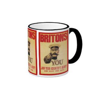 Britanniques : Joignez l'armée de votre pays ! Mugs À Café