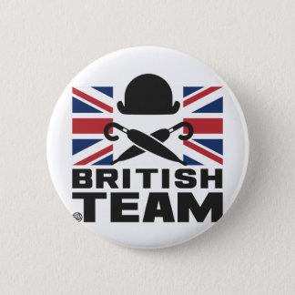 BRITISH TEAM 2 BADGES