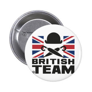BRITISH TEAM 2 BADGES