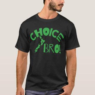 Bro bien choisi (carte de la Nouvelle Zélande de T-shirt
