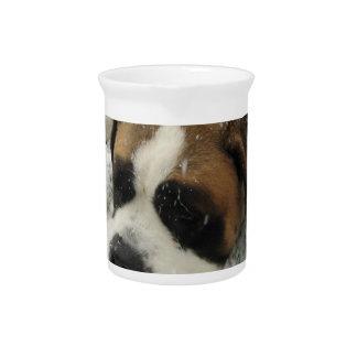 Broc de chien de St Bernard Pichets