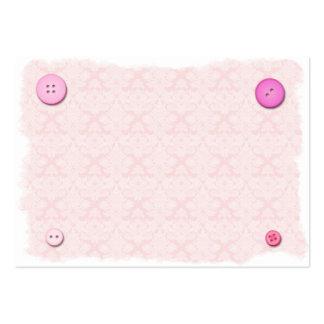 Brocard et boutons carte de visite grand format