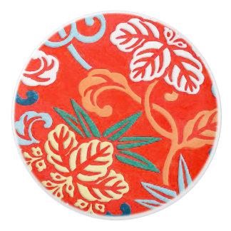 Brocard japonais - rouge et blanc