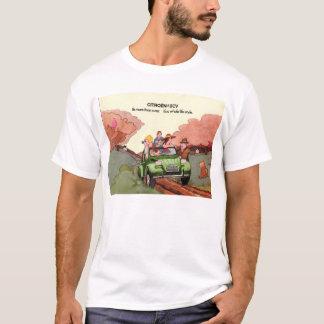 Brochure de ventes de Citroen 2CV T-shirt