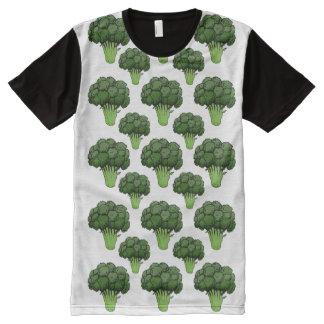 Brocoli partout t-shirt tout imprimé