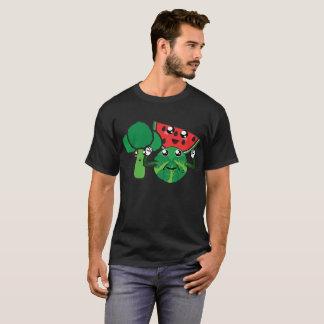 Brocoli, pastèque et chou de bruxelles t-shirt