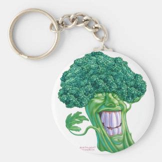 brocoli porte-clé rond