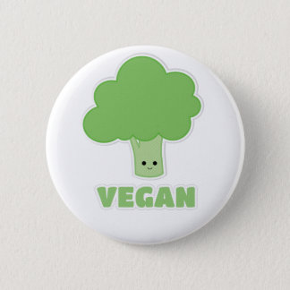 Brocoli végétalien badges
