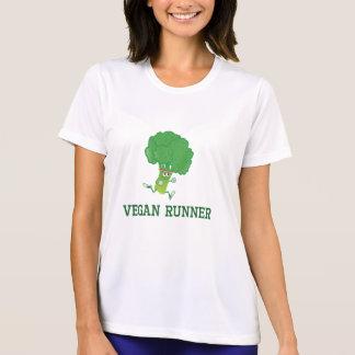 Brocoli végétalien de coureur t-shirt