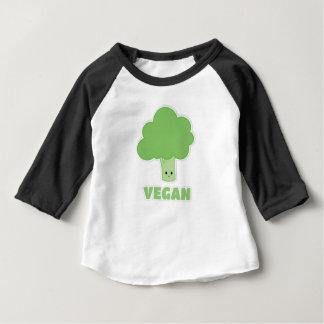 Brocoli végétalien t-shirt pour bébé