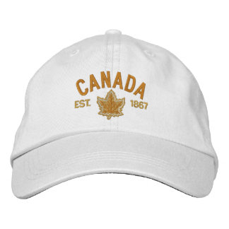 Broderie canadienne Canada d'anniversaire Casquette Brodée